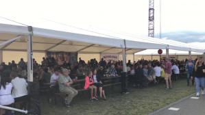Amber Fest koło Stadionu w Gdańsku