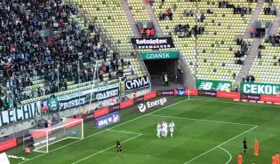 Gol dla Lechii w meczu z Zagłębiem