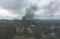 Pożar pustostanu na ul. Kolonia Ochota