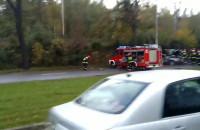 Skutki wypadku w Kolibkach