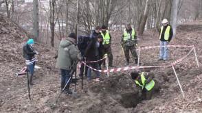 Znaleziono ludzkie szczątki