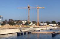 Pomost mariny Yaht Park gotowy