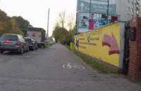 Wrakowisko przy głównej ulicy w Gdyni
