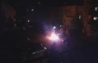 Pożar auta na Gorczycowej Gdynia Dąbrowa