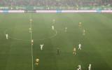 Flavio Paixao strzelił zwycięskiego gola. Radość Lechii