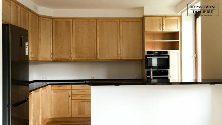 Kuchnia Na Wymiar Drewno Kamień I Dwie łazienki