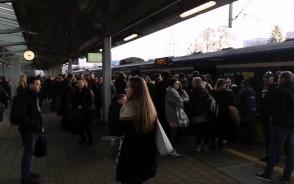 Chaos na stacji SKM Żabiabka