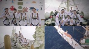 Załoga Daru Młodzieży pozdrawia z okazji 100-lecia odzyskania Niepodległości