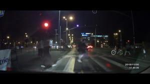Przejechał na czerwonym świetle