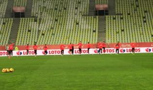 Trening reprezentacji Polski w Gdańsku