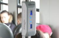 Pasażerowie SKM zadowoleni z ładowarek USB