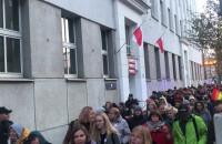 Marsz Równych idzie Świętojańską