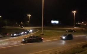 Samochody zawracają pod prąd na obwodnicy