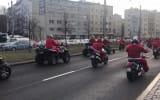 Mikołaje na motocyklach na Wzgórzu 2