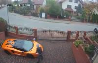Zarysowane Lamborghini - prowokacyjna reklama
