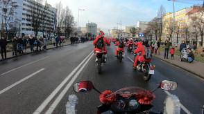 Wyjazd Mikołajów ze skweru Kościuszki
