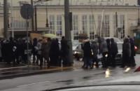 Protest przed Sądem Rejonowym w ...