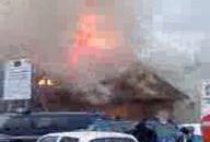 Pożar restauracji Zagroda w Sopocie