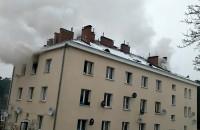 Pożar przy Łostowickiej