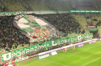 Oprawa kibicowska na meczu Lechia Gdańsk - Górnik Zabrze