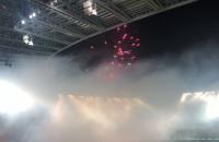 Race i fajerwerki na meczu Lechii z Górnikiem