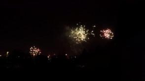 Prywatne fajerwerki w Gdyni