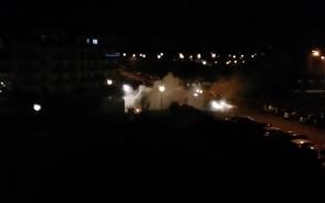 Interwencja straży pożarnej na Morenie