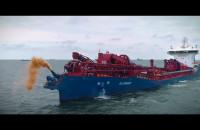 Próby morskie pogłębiarki DC Orisant