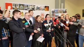 Konferencja prasowa w UM po ataku na Pawła Adamowicza