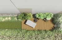 Projekt małego ogrodu miejskiego w Gdyni | 82 m2 | Pracownia STTYK