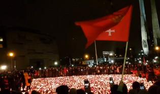 Sound of  silence na pl. Solidarności