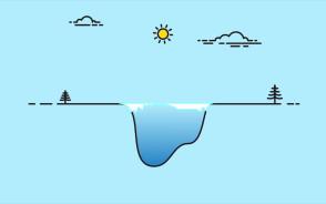 Dlaczego wchodzenie zimą na zbiornik retencyjny jest niebezpieczne?