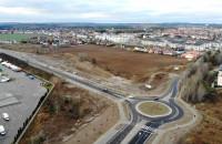 Nowe rondo i droga w Osowej