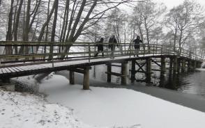 45 km zimowa wędrówka dookoła jezior wdzydzkich