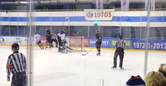 Zwycięski gol Jana Stebera w meczu z Cracovią Kraków