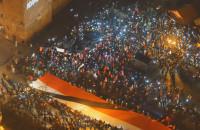 Ostatnie światełko dla prezydenta na Targu Węglowym