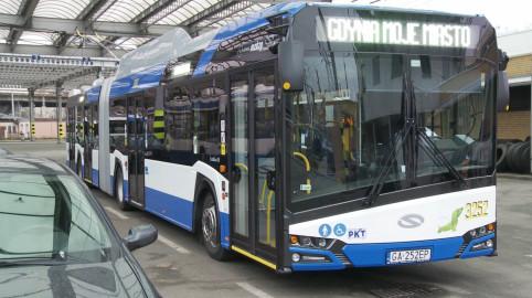 Nowe trolejbusy przegubowe będą jeździć po Gdyni