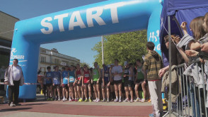 Bieg Europejski zwieńczył Igrzyska Miast Bliźniaczych