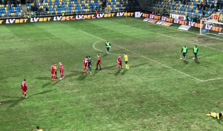 Arka - Piast: koniec meczu