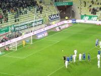 Flavio Paixao na 1:1 w meczu Lechia Gdańsk - Wisła Płock