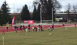 Rugby, mecz Lechia - Skra