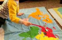Staś i państwa świata - nauka angielskiego w Niepublicznym Przedszkolu Montessori Nr 1  w Gdyni