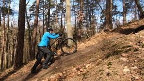 Rowerem przez wzgórza Pachołka