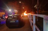 Pożar samochodu w Sopocie