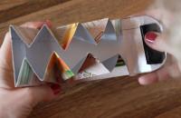 Robi portfele z kartonów po sokach na rzecz fundacji z Wrzeszcza
