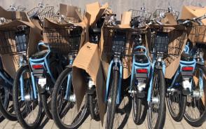 Dostawa nowych rowerów Mevo