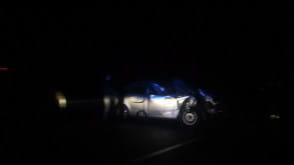 Wypadek na obwodnicy przed węzłem Karczemki