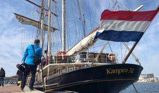 Holenderski żaglowiec zawinął do Gdyni