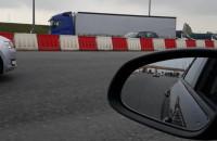 Korek na zjeździe z A1 w stronę ...