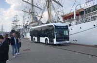 Prezentacja autobusu elektrycznego w Gdyni